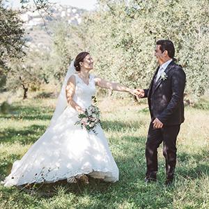 matrimonio, Chiesa La Vittoria, uliveto, alberi, bosco, veroli, fotografo frosinone, fotografo latina, vestito da sposa, tramonto, coppia, sposi, foto naturali, foto spontanea matrimonio